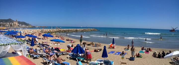 Sitges Beach Bassa Rodona