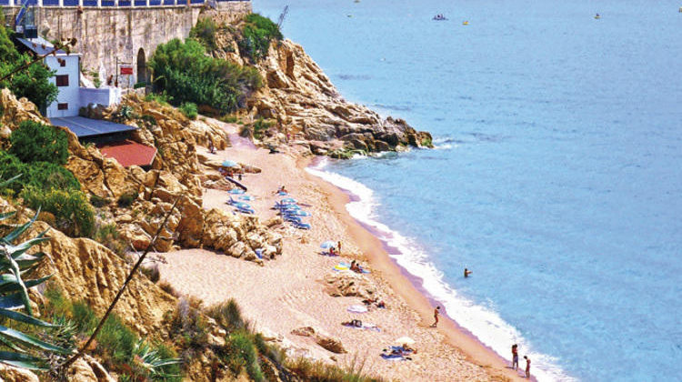 Beaches in Catalonia, Barcelona: Sant Pol de Mar